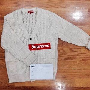 Supreme wool Cardigan